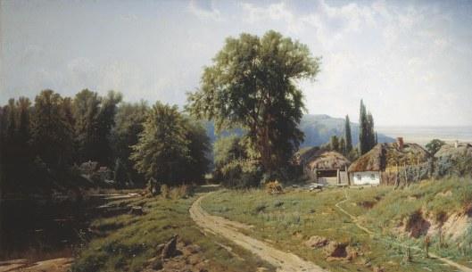 Крыжицкий Константин Хутор в Малороссии 1884