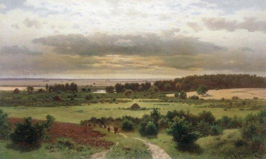 Крыжицкий Лесные дали 1889