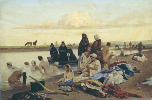 1 Лев Соловьев. Монахи. Не туда заехали. 1870 е гг.